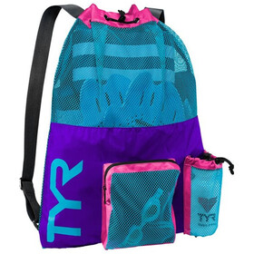 TYR Big Mesh Mummy Selkäreppu, purple/blue